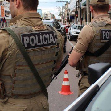 20 policiais militares do Alto Vale serão enviados para auxiliar na Operação Veraneio.
