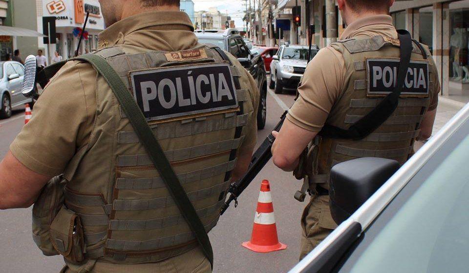 Em Aurora, polícia prende autor de furto