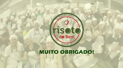 Evento beneficente Risoto do Bem levanta mais de R$ 88 mil