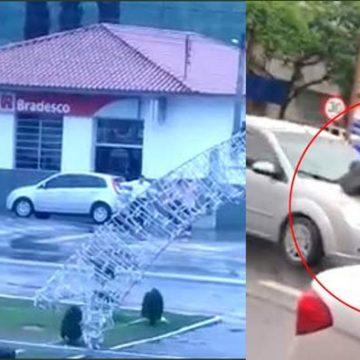 Em mais um tiroteio, no meio da tarde, agência bancária é assaltada em Apiúna