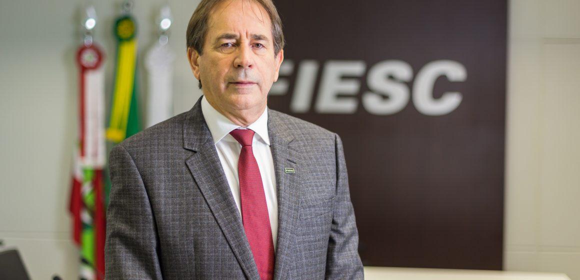 Em visita ao Alto Vale, presidente da Fiesc fala sobre os avanços da entidade
