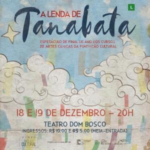 Peça A Lenda de Tanabata será apresentada nesta semana em Rio do Sul