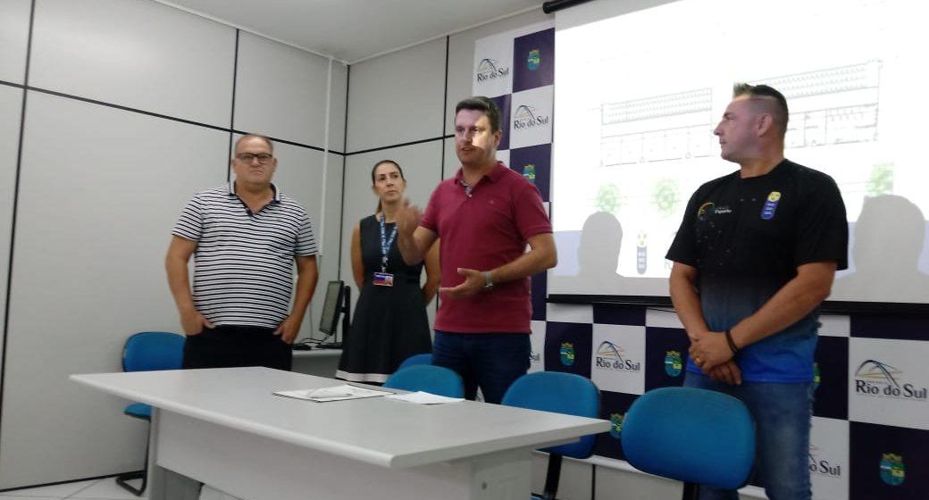 Assinado o convênio para construção do novo Ginásio de Esportes