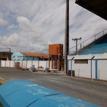 Estádio Municipal de RSL passa por adequações