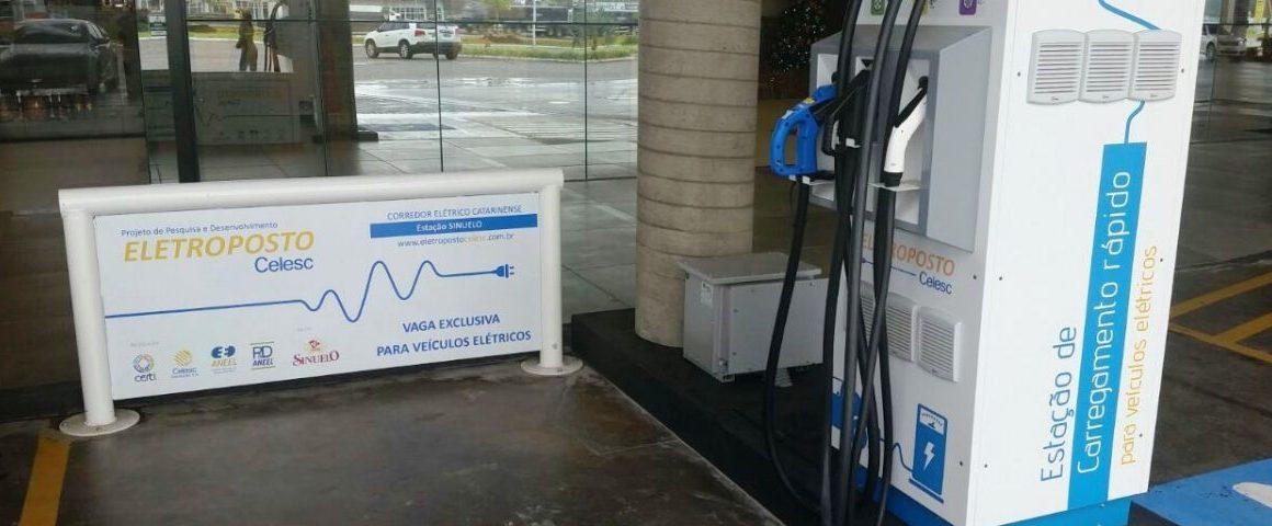 Celesc prorroga chamada pública para novos eletropostos em SC