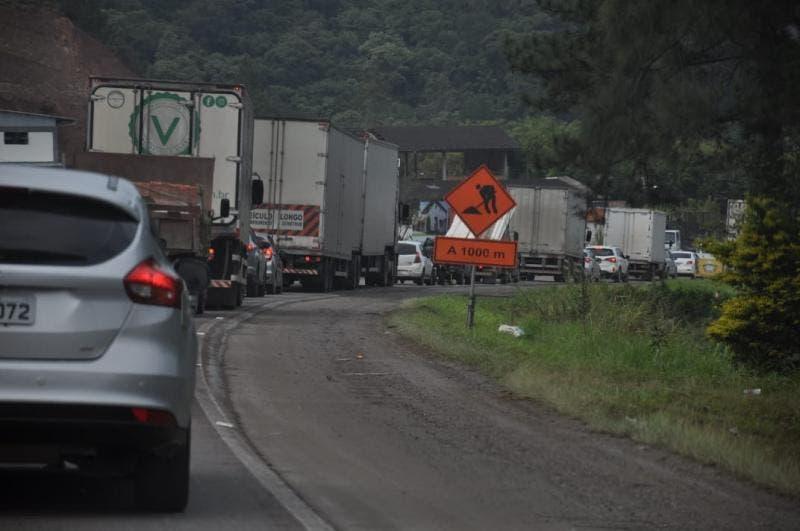 Orçamento 2020 para obras na BR-470 prevê corte de árvores próximo à rodovia