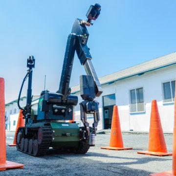 PMSC recebe o robô antibomba para Operações Policiais Especiais