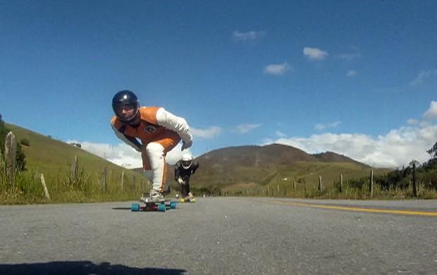 Presidente Getúlio realiza 1º Encontro de Downhill de Skate
