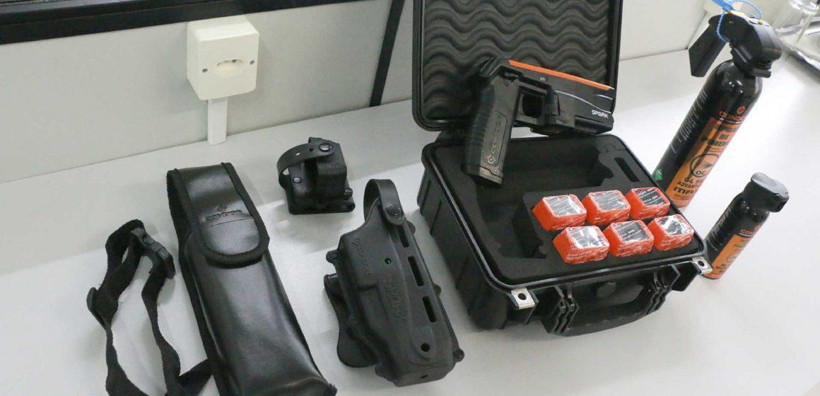 Guarda Municipal de Rio do Sul recebe novos equipamentos não letais