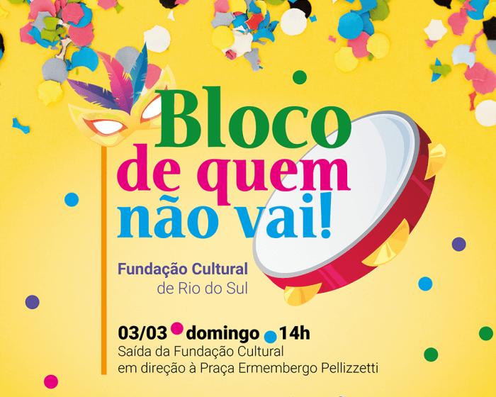 Rio do Sul terá encontro de Carnaval no domingo