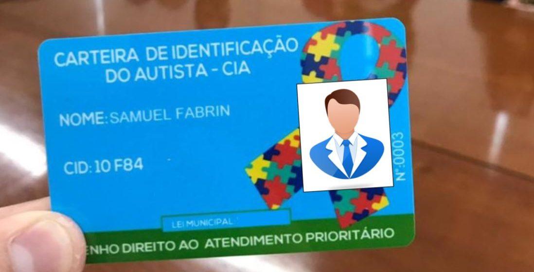 Governo do Estado de SC lança Carteira de Identificação do Autista