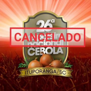 26ª edição da festa da cebola é cancelada