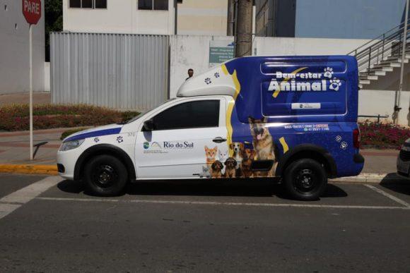 Rio do Sul passa a ter unidade móvel de fiscalização de maus-tratos de animais