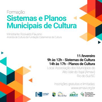 Fundação Catarinense de Cultura promoverá encontro para formação sobre políticas públicas