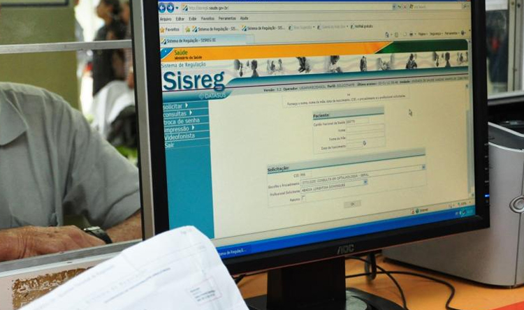 Falhas no Sistema de Regulação Sisreg vêm sendo registradas desde o ano passado