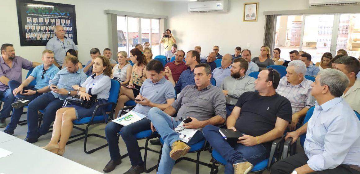 Em reunião na AMAVI prefeitos da região decidem suspender as aulas em toda a rede a partir de quinta-feira
