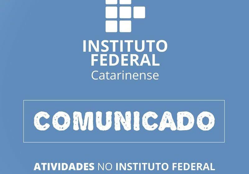 Para atender decreto municipal, palestras de evento internacional do IFC de Rio do Sul serão realizadas pela internet