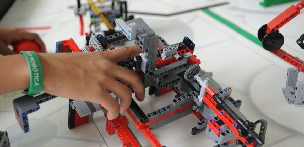 Alunos do Sesi de Rio do Sul participaram da etapa nacional da First Lego League