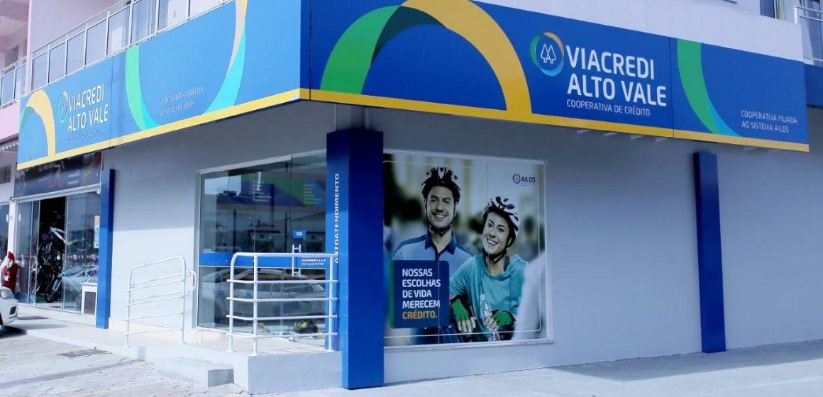 A Viacred Alto Vale alcançou a marca de 70 mil cooperados