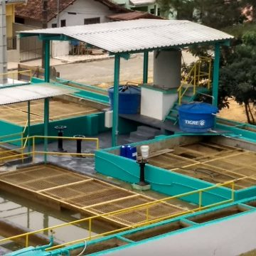 Casan executa manutenção na ETA de Rio do Sul