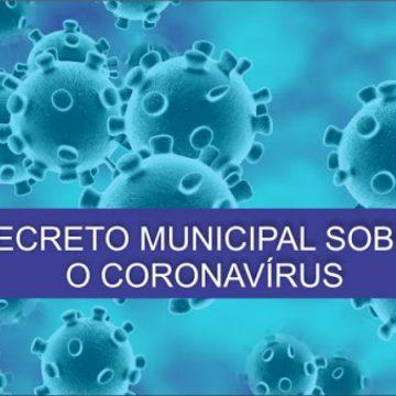 Municípios decretam situação de emergência por Coronavírus