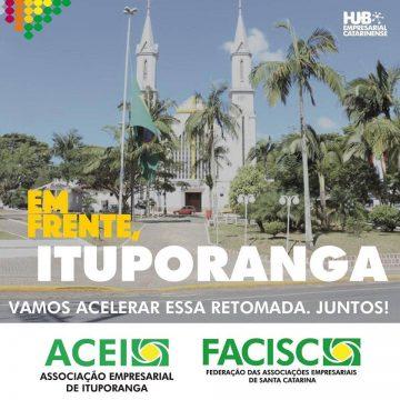 ACEI de Ituporanga realiza campanha para fortalecimento do comércio
