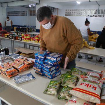 Famílias de crianças matriculadas na rede pública municipal de RSL receberão kits emergenciais com produtos da alimentação escolar
