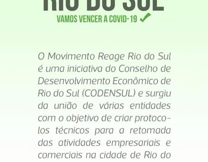 """Prefeitura e CODENSUL lançaram o formulário """"SOS Empresas Rio do Sul"""""""