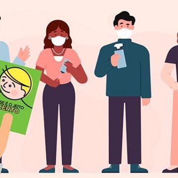 """Coronavírus: nova fase do """"Jeito Catarinense"""" destaca o uso de máscara"""