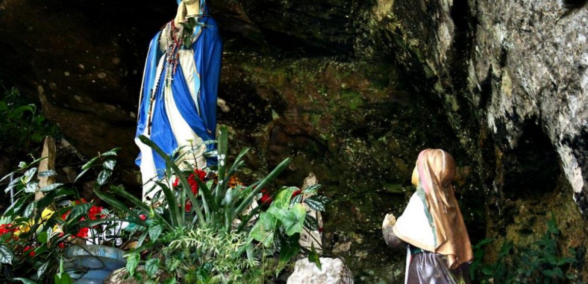 Gruta Nossa Senhora de Lourdes em Ituporanga está fechada nesta sexta-feira Santa
