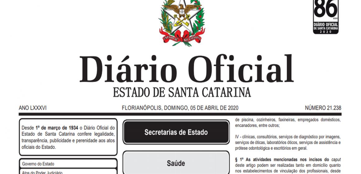 Governo do Estado autoriza retomada de alguns grupos de autônomos
