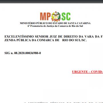MP de RSL ajuíza Ação Civil Pública contra decreto de flexibilização de atividades econômicas