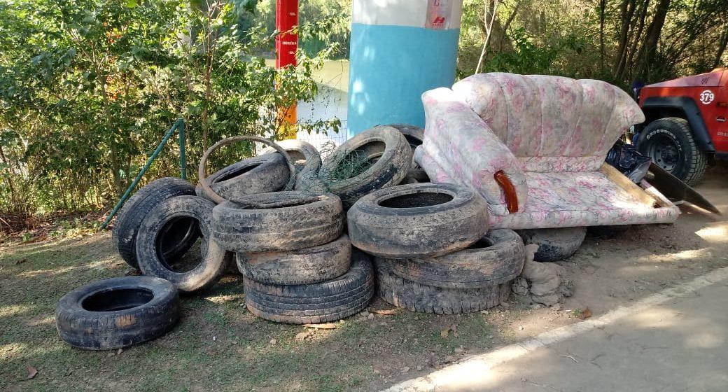 Ação voluntária retira 6 toneladas de lixo do Rio Itajaí-Açú