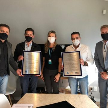 Vidal Ramos e Agrolândia assinam contrato para saneamento com a Casan