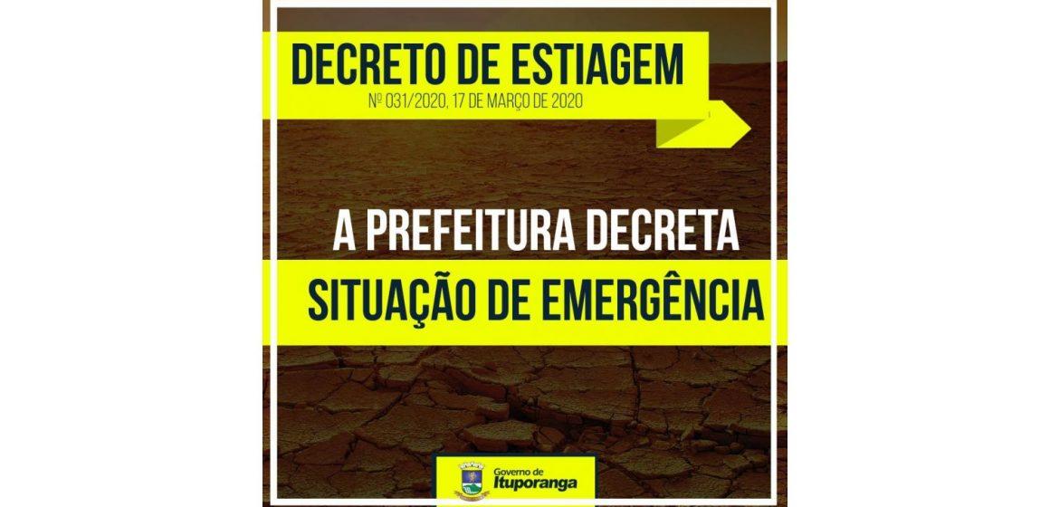 Após decreto de emergência homologado, Ituporanga elenca prioridades para estancar prejuízos da estiagem