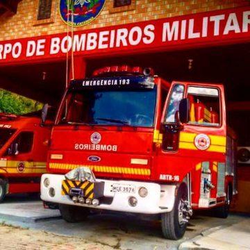 Convênio vai destinar R$ 350 mil para conclusão da sede própria do quartel dos bombeiros de Trombudo Central