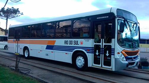 Além de bares e restaurantes, transporte coletivo também será fiscalizado em Rio do Sul