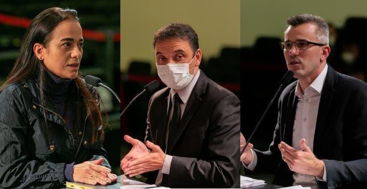 Durante cinco horas de acareação promovida pela Alesc, ex-secretários e servidora trocam acusações sobre compra de respiradores