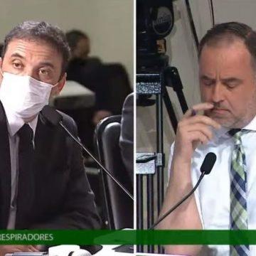 CPI dos respiradores: deputados ouvem depoimentos do ex-secretário de Saúde Helton Zeferino