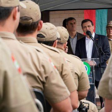 Corpo de Bombeiros Militar de Rio do Sul passa a ser o 15º Batalhão do estado