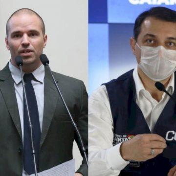Governador registra queixa-crime contra o deputado Jessé Lopes