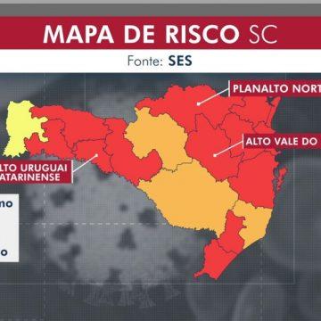 Alto Vale entra na lista de regiões em situação gravíssima por causa da Covid-19