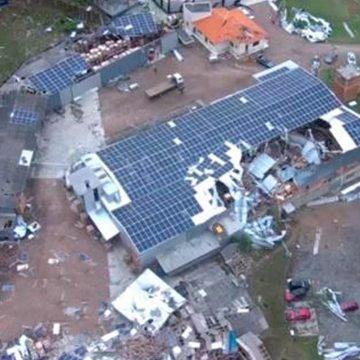 Taboão está entre os mais atingidos pelo ciclone, em Rio do Sul