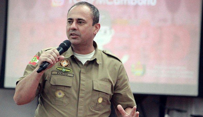 Comandante da Polícia Rodoviária Estadual cumpre agenda em Presidente Getúlio