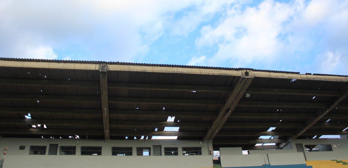 Com prejuízo estimado em R$ 40 mil, FMD trabalha para recuperação dos estragos provocados pelo ciclone
