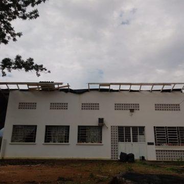 Com estragos causados por ciclone, Lar da Menina efetua reparos na estrutur