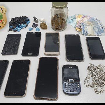 Três pessoas são presas por tráfico de drogas em Taió