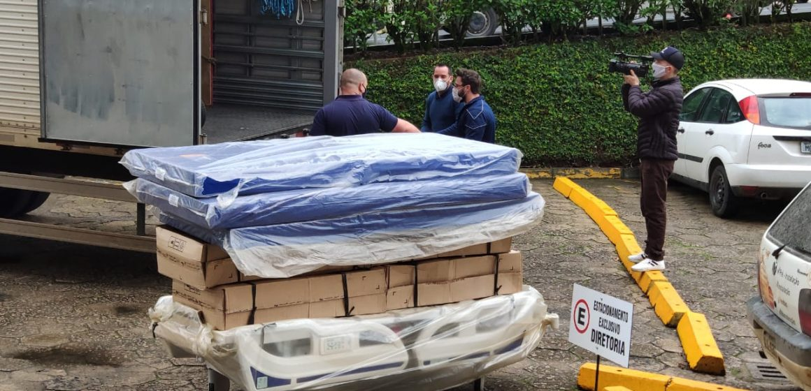 Hospital Regional recebe 20 camas para a UTI