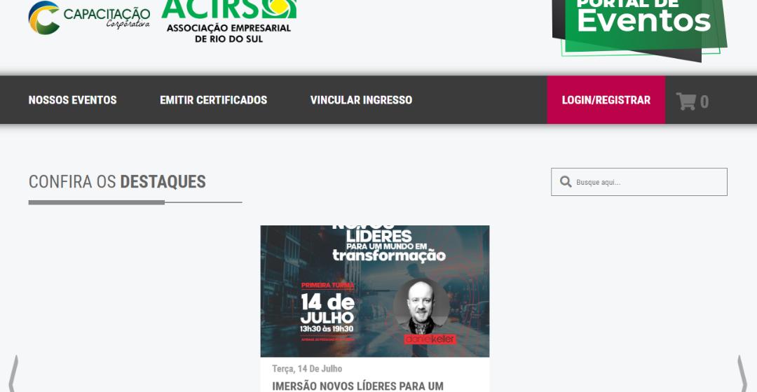 Acirs promove ações de combate à crise provocada pela pandemia
