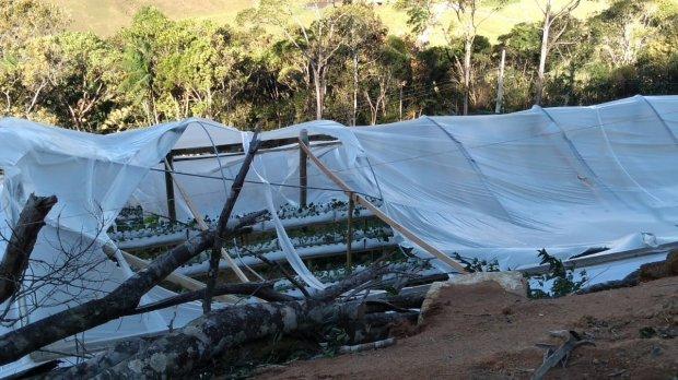 Epagri orienta produtores que tiveram perdas após ciclone